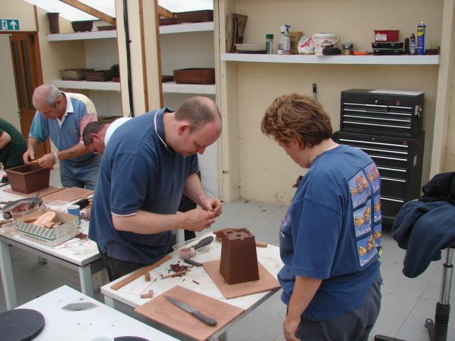 Make your own bonsai pot workshop